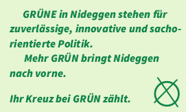 Am 25. Mai Grün in den Stadtrat wählen!