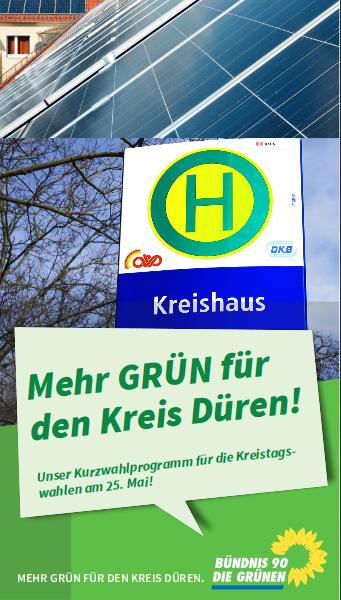 Grünes Kreistagswahlprogramm